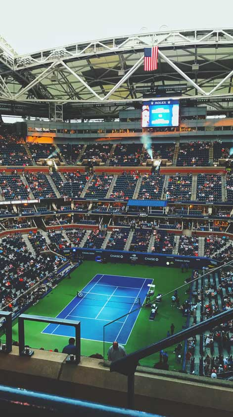 открытый чемпионат сша теннис