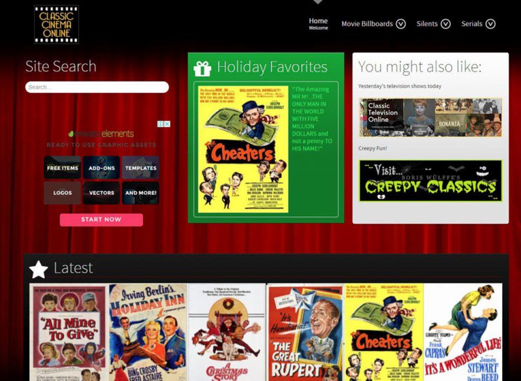 лучшие сайты для просмотра фильмов онлайн бесплатно - Classic Cinema Online